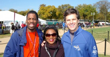Terrence Baker, Tim Shriver and Wendy