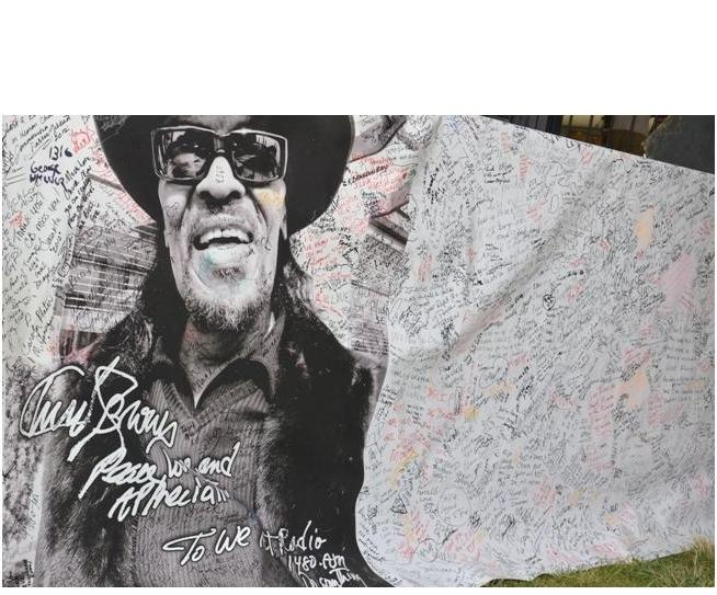 Chuck Brown Tribute Front Page