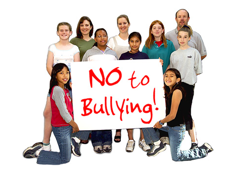 No To Bullying in Virginia Sign