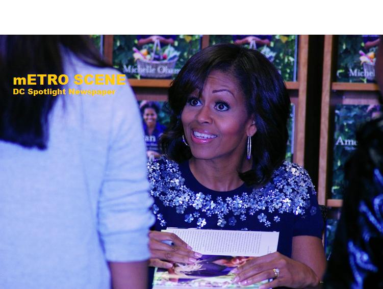 Metro Scene - Michelle Obama Book signing2