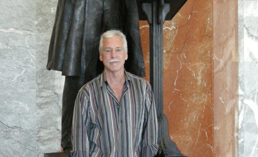 Frederick Douglass Statue & Steven Weitzman header