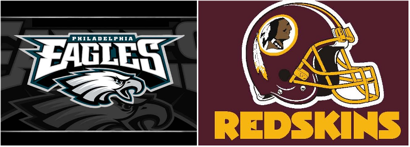 Redskins and Eagles