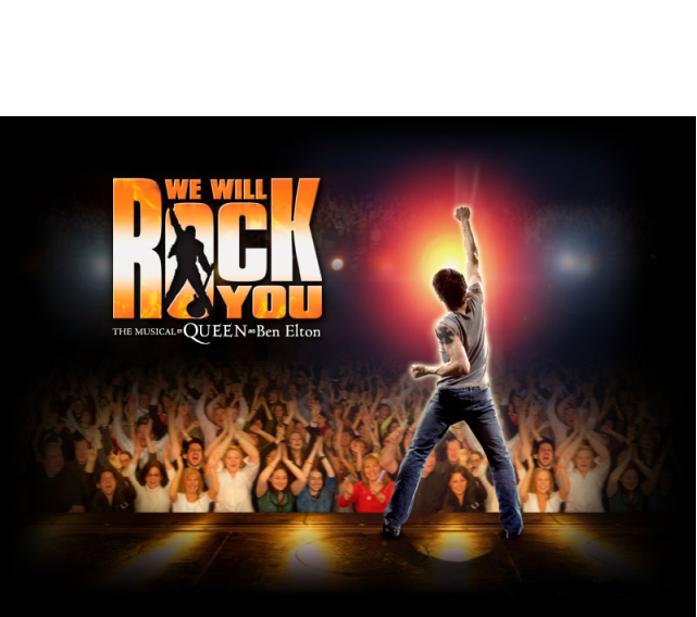 ENTERTAINMENT - We will rock you  - musical poster 3