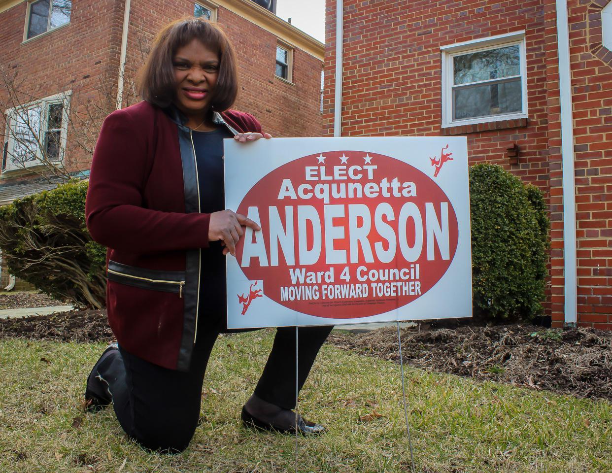 Acqunetta Anderson - Ward 4 candidate 2015