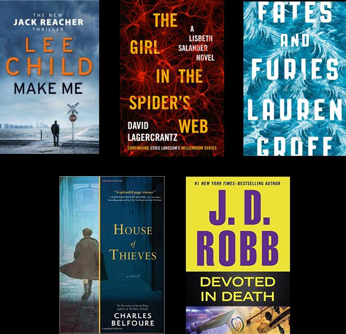 Top 10 Books October 2015