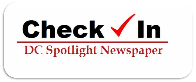 DC Spotlight Check in logo