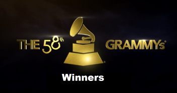 2016 Grammys Logo Winners