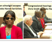 HUMAN WRITES  – Congressman Smith holds Boko Haram hearings with kidnapped Nigeria girl