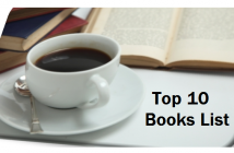 Top 10 Books List - Coffee Cup