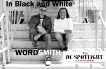 WORDSMITH - WENDY AND WORDSMITH ON STEPS small LABEL LOGO