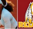 DC SPOTLIGHT - Serena Williams Redskins