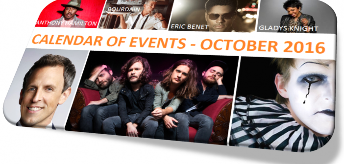 CALENDAR OF EVENTS – October 2016 – 50 Fun Things to Do in Washington, D.C.