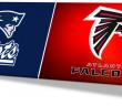 DC SPOTLIGHT - New England Patriots & Falcons LOGO 2017 Super Bowl edited