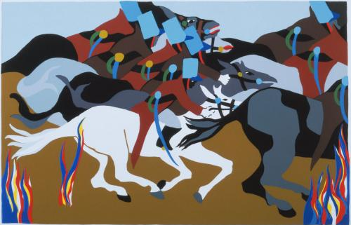 Phillips Collection - Jacob Lawrence Exhibit