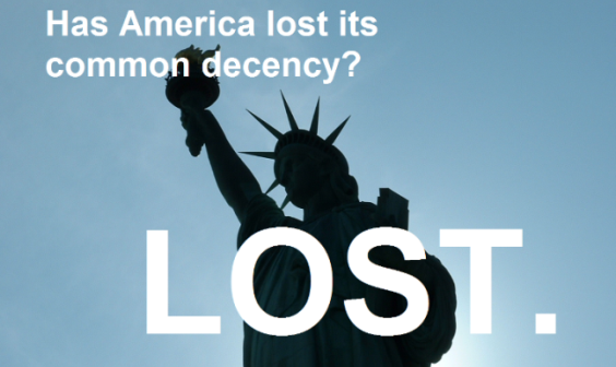 THE NATION – Has America lost its common decency?