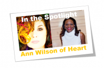 In the Spotlight - Ann Wilson of Heart header