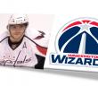 Capitals Hockey Alex Ovechkin & Wizards logo edited