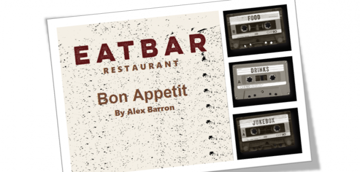 BON APPETIT – EatBar Restaurant: Wine, milk shakes, jukeboxes, French fries and an adult's retro cool playhouse